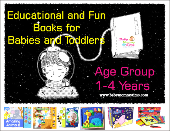 Educational and Fun Books for Babies and Toddlers – Age Group 1-4 Years