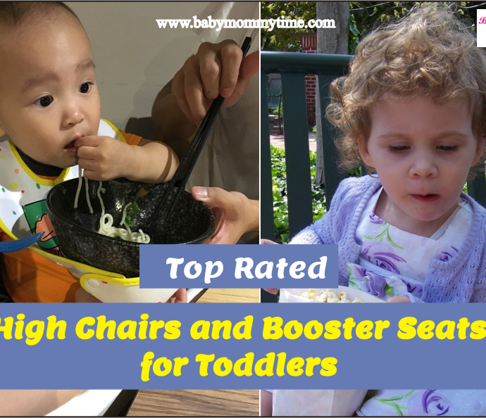 Top Rated High Chairs and Booster Seats for Toddlers