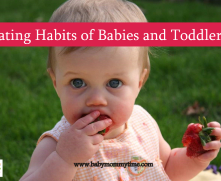 Eating Habits of Babies and Toddlers